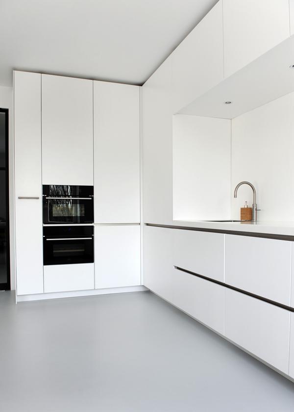 chaim lodeizen | witte keuken